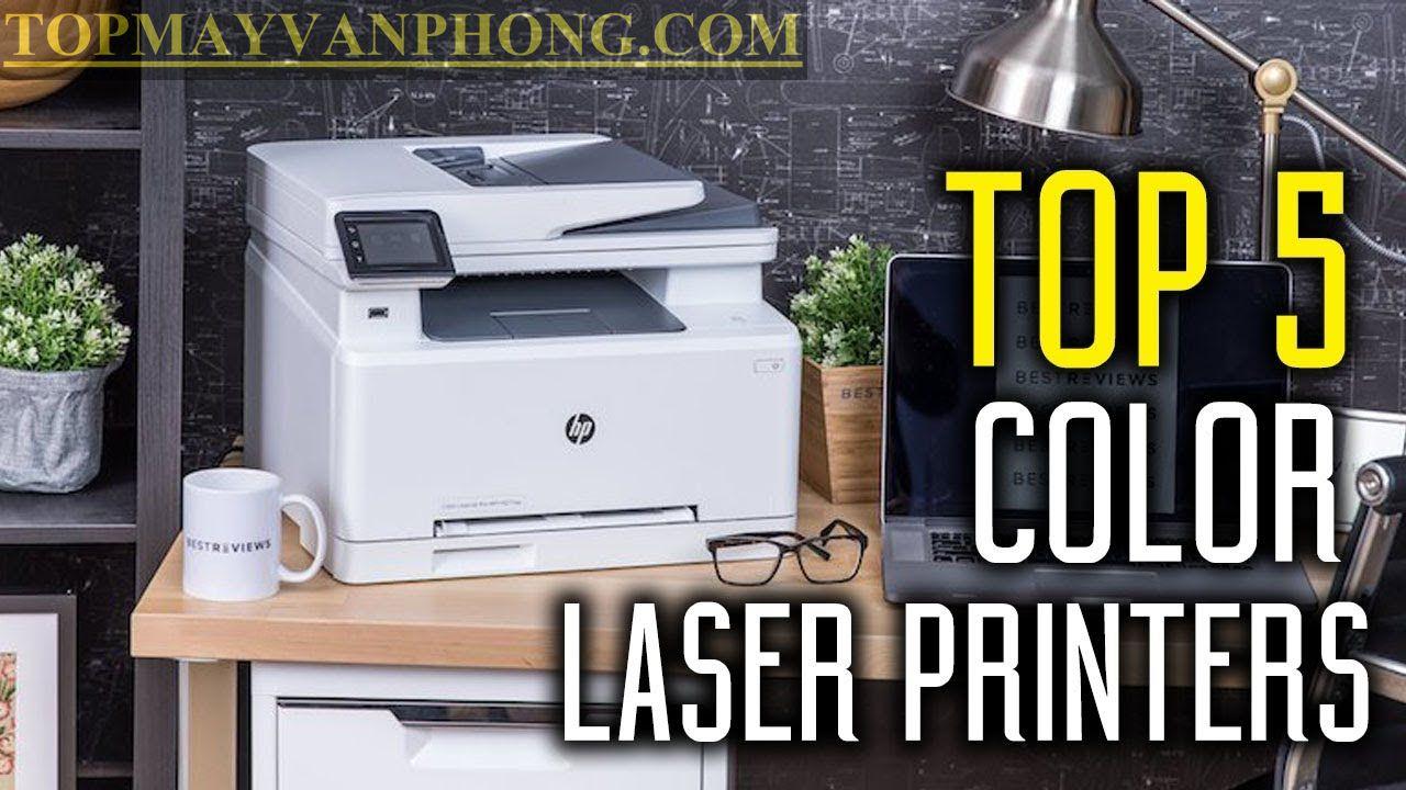 Top 5 - Những máy in laser màu đang mua nhất (bán chạy 2021)